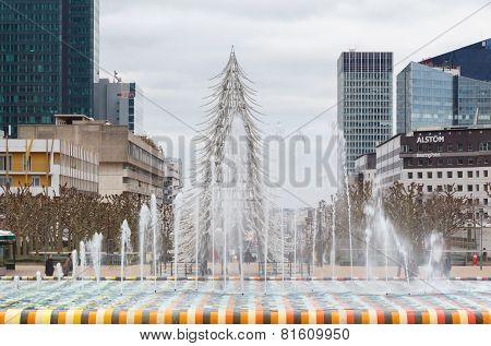 Paris. Christmas.