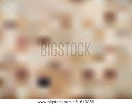 Vector Brown Dot Blur.