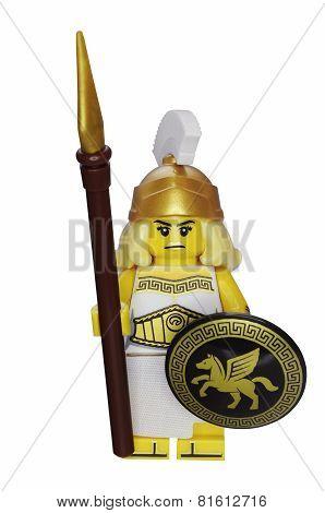 Battle Goddess Lego Minifigure