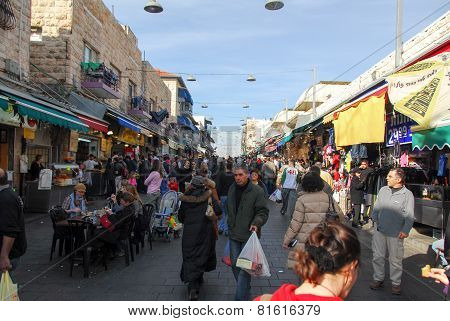 Jerusalem Market, Shopping