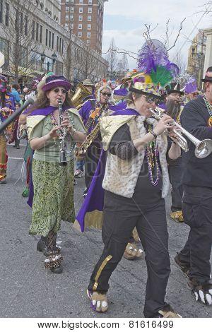 Mardi Gras Musicians
