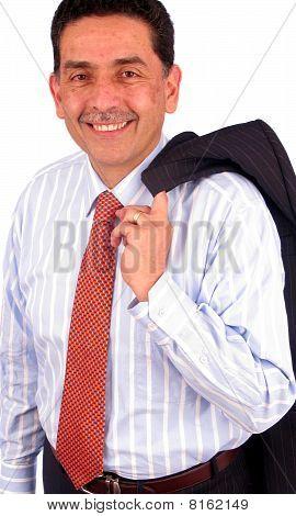 Business Man Portrait Smiling