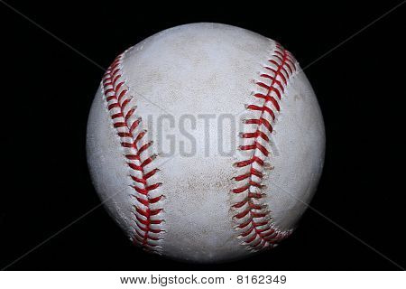 Real White Baseball