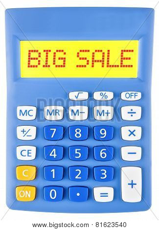 Calculator With Big Sale