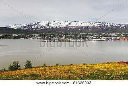 Akureyri City - Iceland