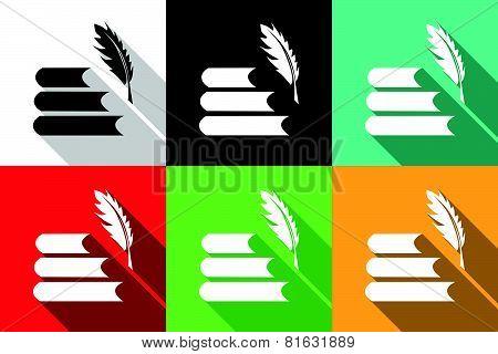 Literature Icons