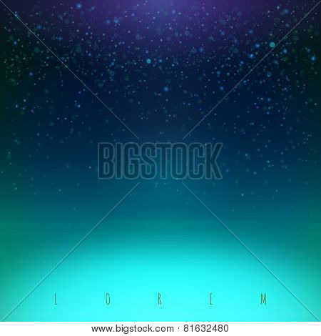 Blue Night Sky Illustration