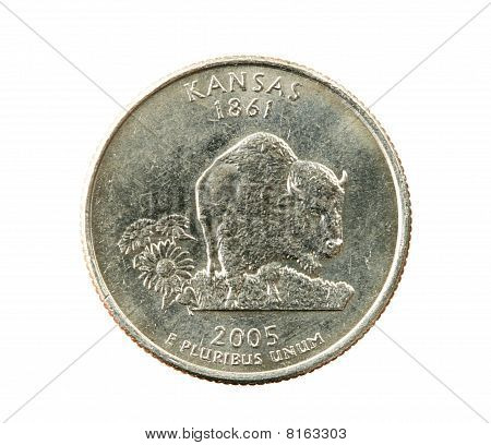 Isolated Mississippi Quarter