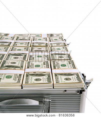 Case full of money