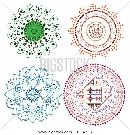 Henna Mandala