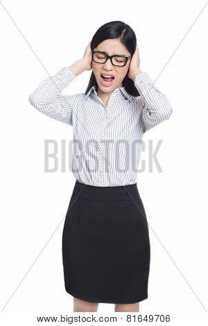 Business Asia Woman Portrait .