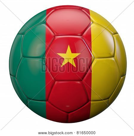 Cameroon Football Flag
