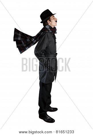 Man In Black Costume