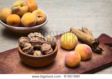 Bolivian Dried Peach Called Quisa