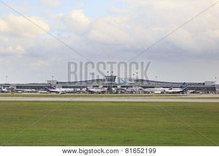 Airport Sheremetyevo.