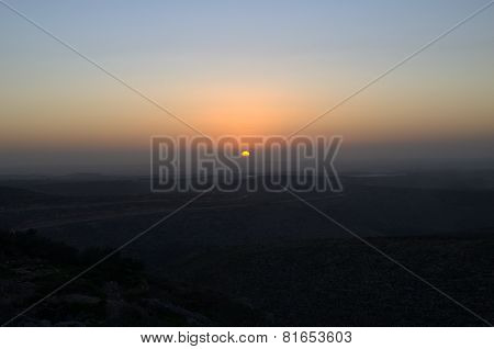 Samaria's sunset