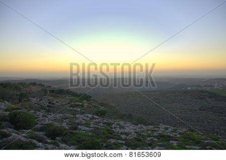 Samaria sunset