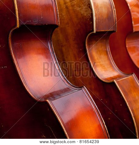 Three Double Basses In A Row