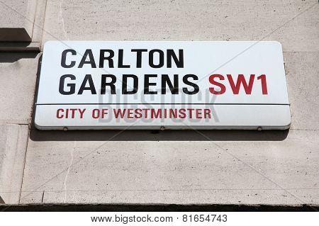 Carlton Gardens, London