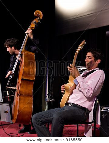 Richard Manetti & Joan Eche-puig At Umbria Jazz Festival In Perugia, Italy