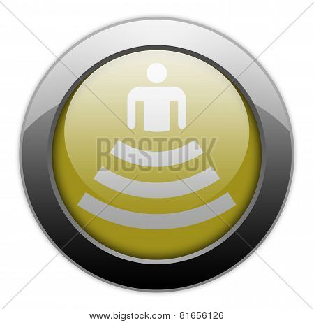 Icon, Button, Pictogram Amphitheater