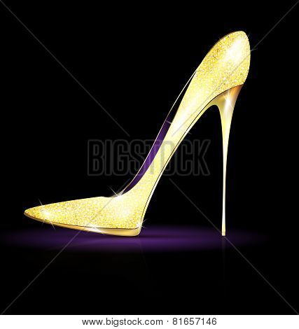 Big Gold Shoe