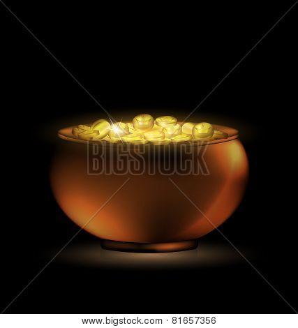 dark pot of gold