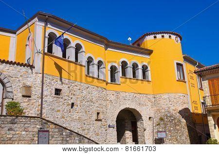 Loreti Palace. Satriano di Lucania. Italy.