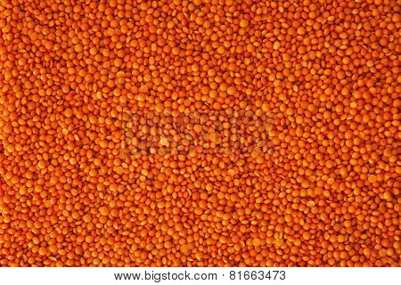 Red Lentils Background