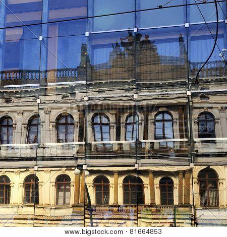 Praha Reflection