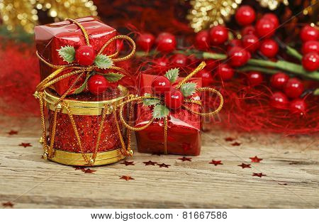 Gifts And Drum