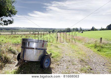 Small Milk Transporter