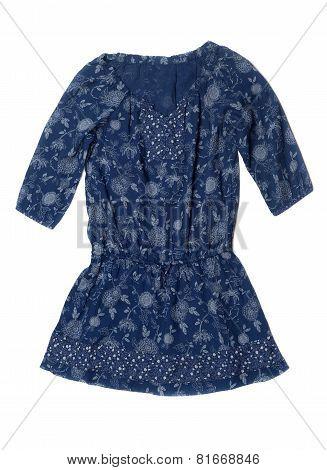 Simple Blue Robe.