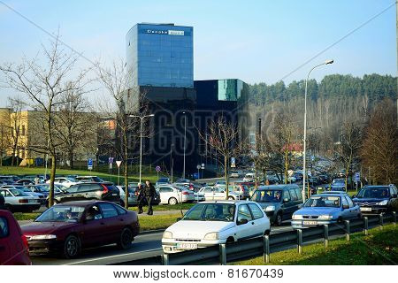Vilnius City Danske Bank At Autumn Time On November 11, 2014
