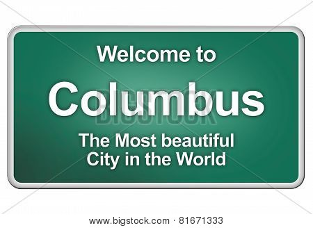 Welcome To Columbus