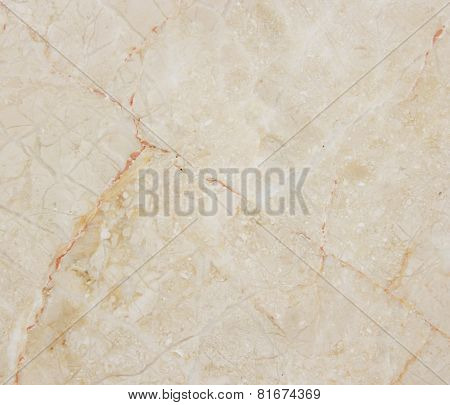 Beige Marble With Natural Pattern.