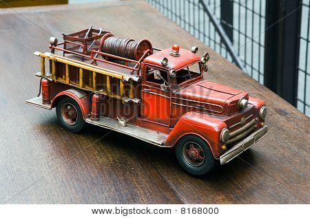 Old toy- Fire Engine
