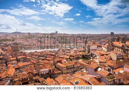 Beautiful View Of Porto City, Portugal