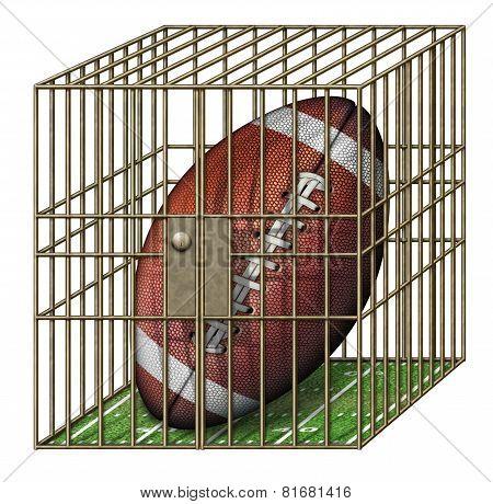 Jailed Football