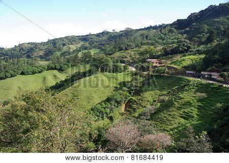 Landscape in Costa Rica