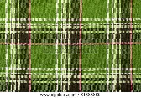 Tartan pattern.