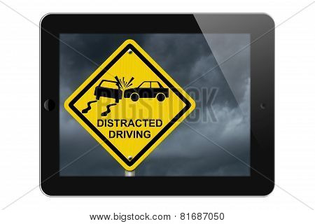 Warning Of Distracted Driving