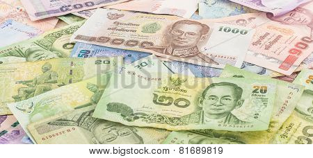 Thai Banknotes - Baht Currency