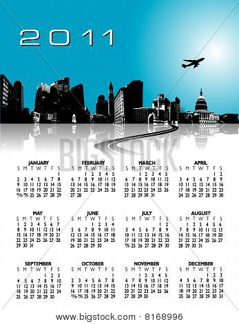 2011 stylish calendar
