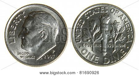 American Dime from 2007