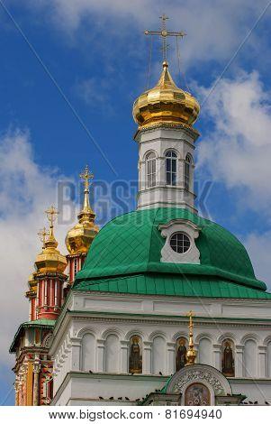 Church in the Trinity Sergius Lavra in Sergiev Posad