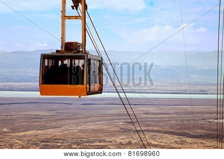 Cable Car At Dead Sea