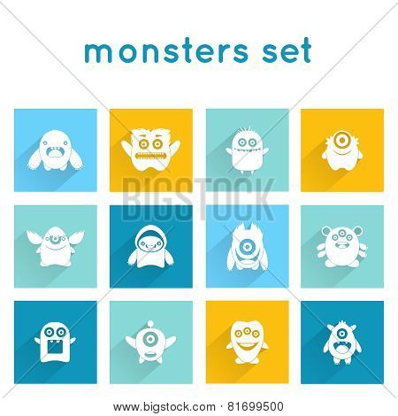 Monster Icons Set
