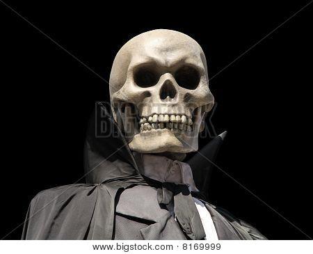 Grim Reaper. Death's Skeleton