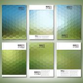 stock photo of pattern  - Geometric backgrounds - JPG